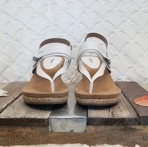 Style and company Jodi white sandal.